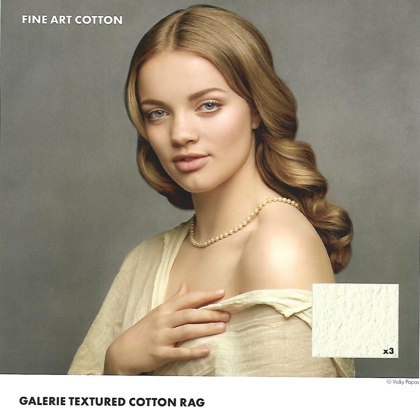 Textured Cotton Rag 310gsm