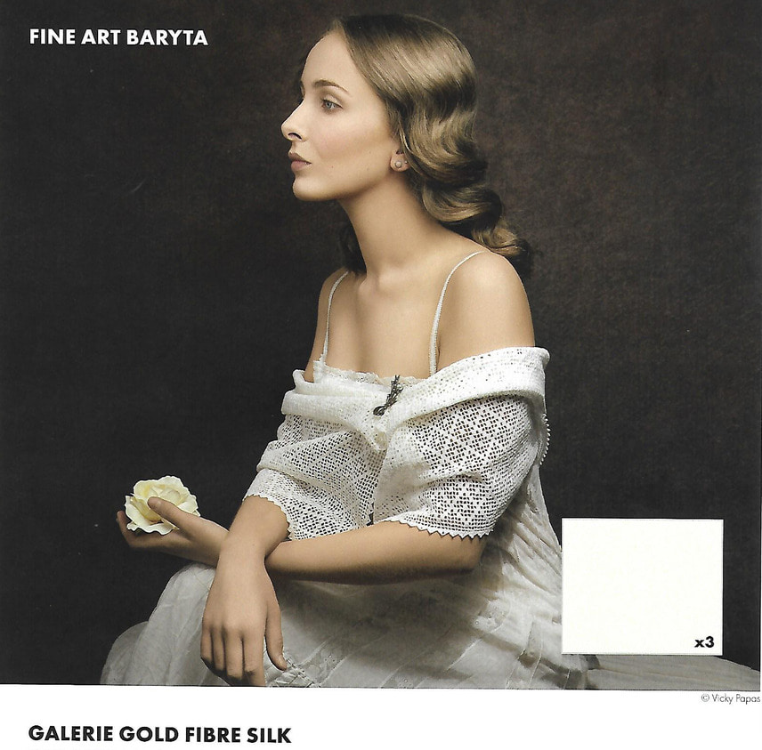 Gold Fibre Silk 310gsm